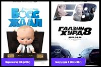 4-р сарын шилдэг кино: Нярай овгор УСК (2017) (Босс жаал)