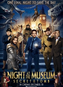 Музейд өнгөрүүлсэн шөнө: Булшны нууц (2014)